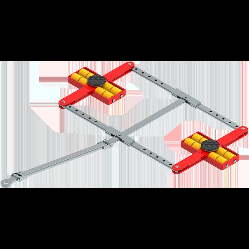 Transportfahrwerk ECO-Skate Vierpunktauflage