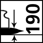 Max Load at 190 mm